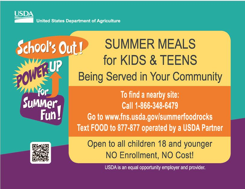 Summer Food Program Information