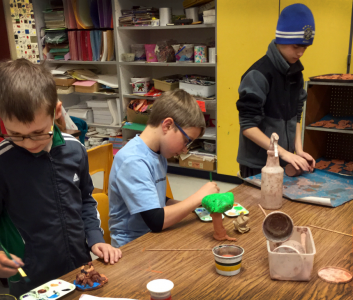 OES Artists in action