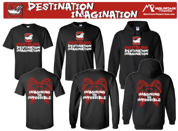 Destination Imagination Apparel