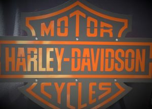 Harley Davidson Metal Sign 2