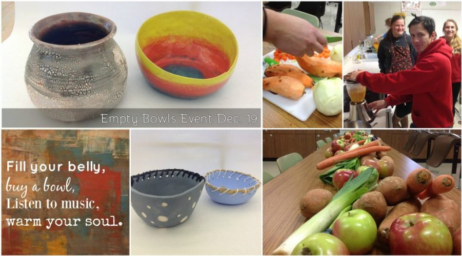 Empty Bowls Fundraising Event
