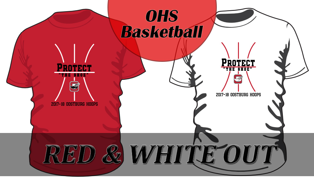 Red / White Out T-Shirt Order