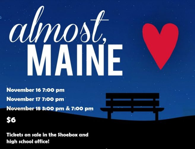Tickets on sale for Almost, Maine