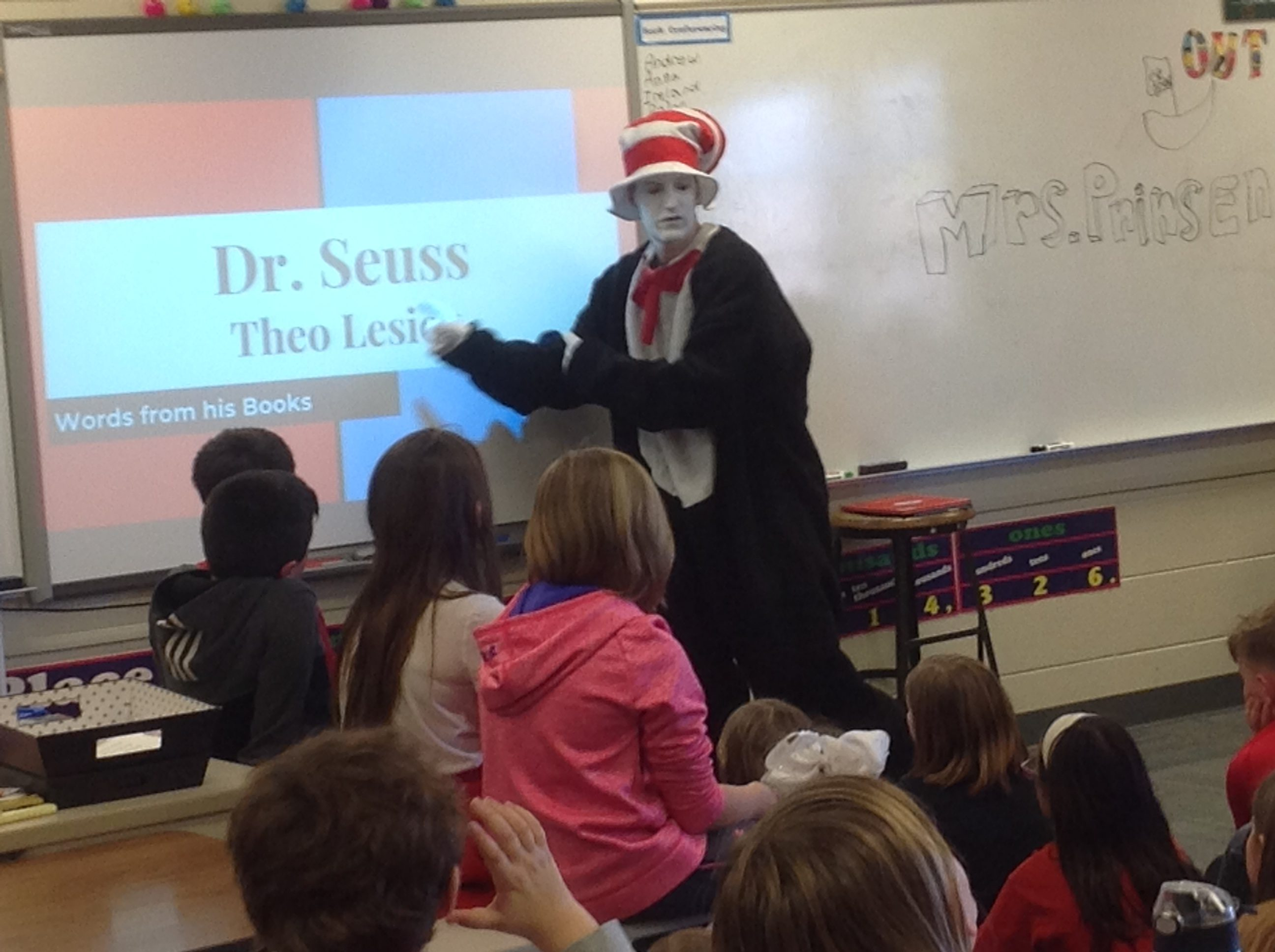 "Dr. Seuss ""Cat in the Hat"" Visit"
