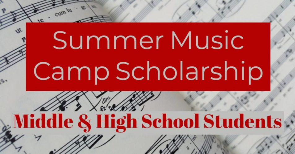 Summer Music Camp Scholarship Application