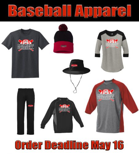 Baseball Apparel Available for Purchase