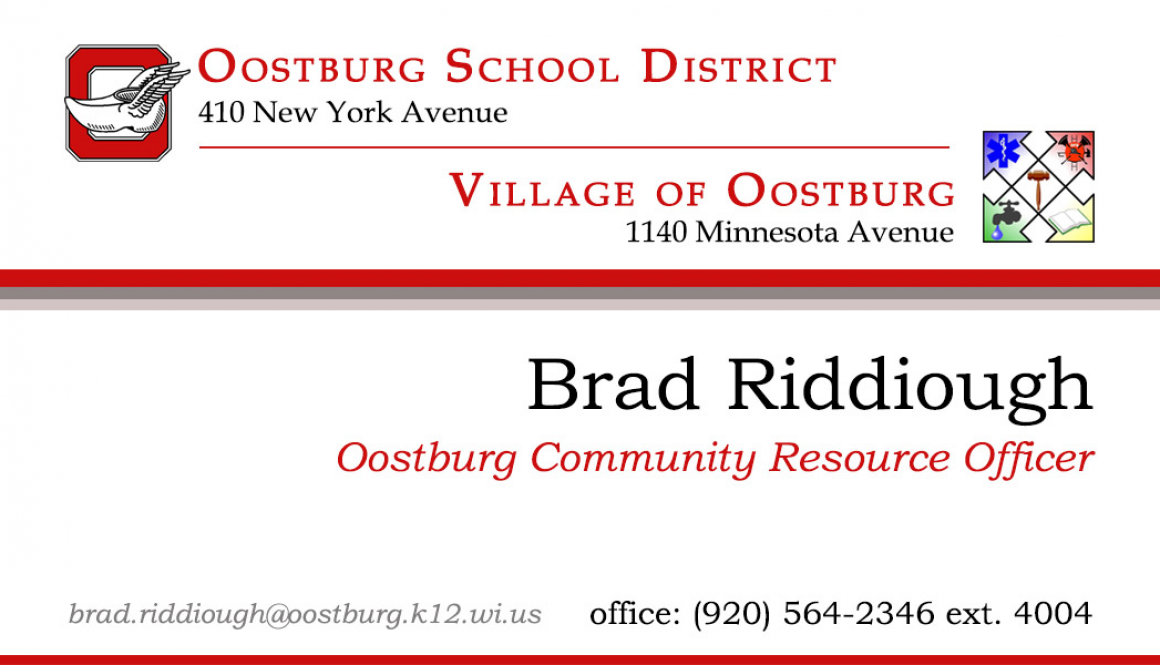 Deputy Brad Riddiough Selected as District Resource Officer